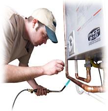 Instalace plynového kotle