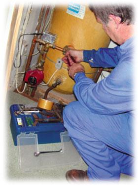 Instalace plynových zařízení