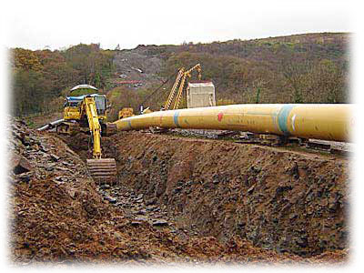 Plynovody Varnsdorf - dodávky a montáže plynovodních vedení