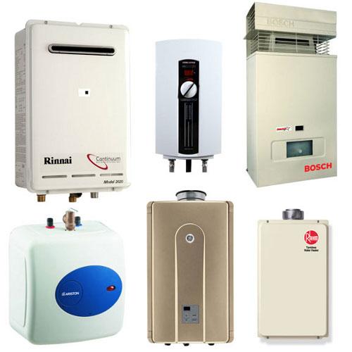 Montáže plynových spotřebičů